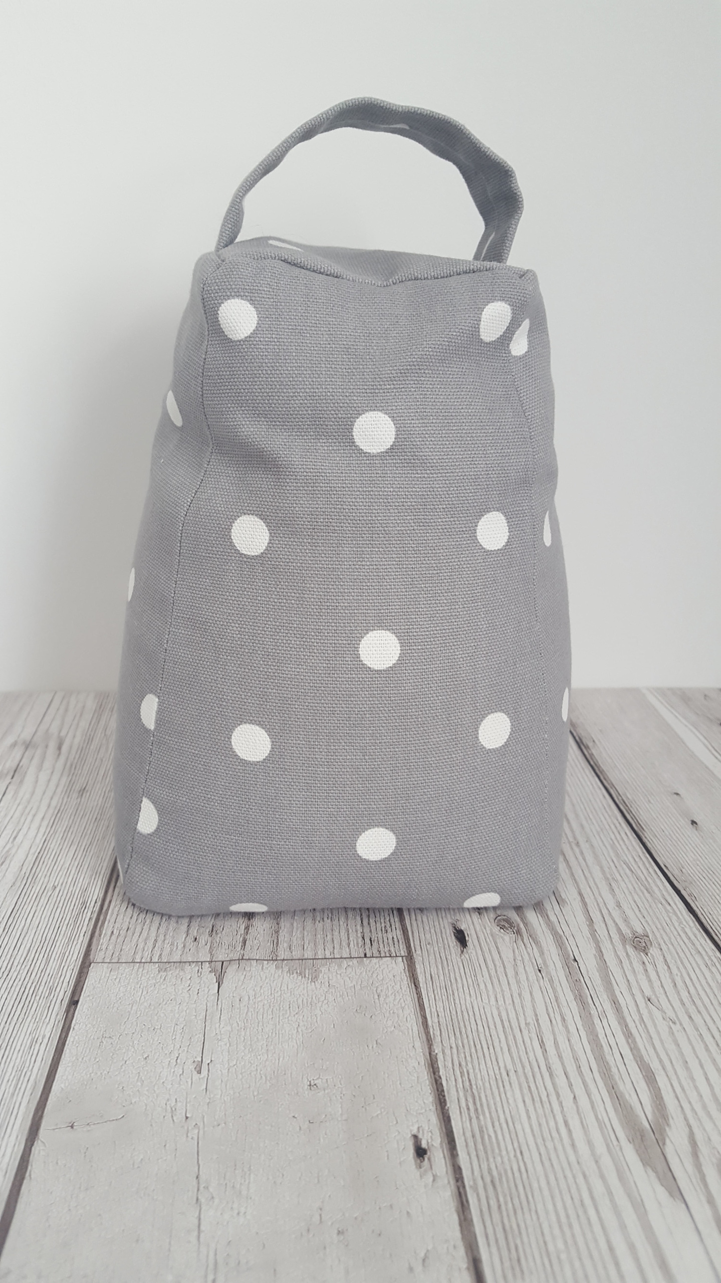 Bee Fabric Doorstop Dotty Fabric Door Stop